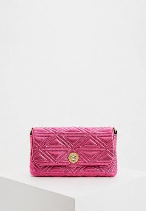 Клатч Emporio Armani. Цвет: розовый