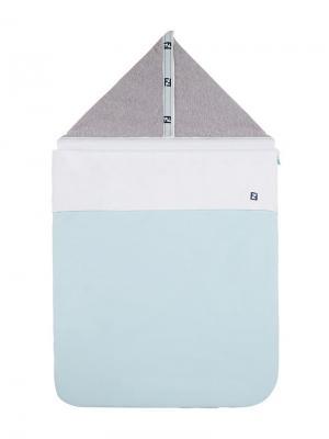Спальный мешок с логотипом Fendi Kids. Цвет: белый