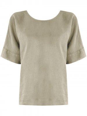 Блузка Carmen FLAVIA ARANHA. Цвет: зеленый