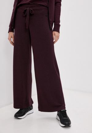 Брюки спортивные DKNY. Цвет: бордовый