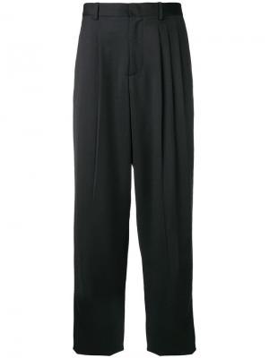 Straight trousers Chalayan. Цвет: черный