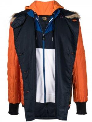 Легкая стеганая куртка Duran Lantink. Цвет: оранжевый