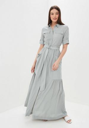 Платье Baon. Цвет: зеленый