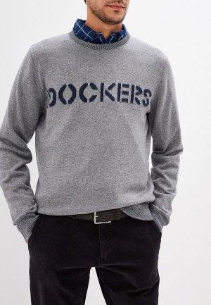 Джемпер Dockers. Цвет: серый