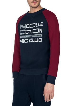 Свитшот Nic Club. Цвет: темно-синий