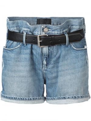 Джинсовые шорты Pierce мешковатого кроя Rta. Цвет: синий
