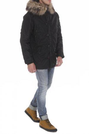 Куртка MHI BY MAHARISHI. Цвет: черный