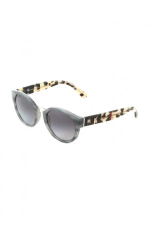 Очки солнцезащитные BURBERRY. Цвет: striped grey