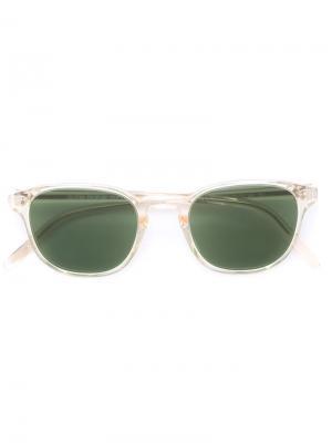 Солнцезащитные очки Fairmont Oliver Peoples. Цвет: нейтральные цвета