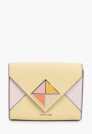 Сумка Cromia. Цвет: бежевый