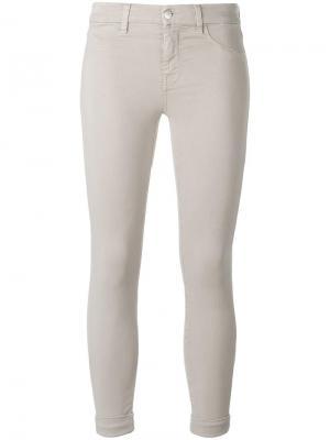 Укороченные брюки J Brand. Цвет: нейтральные цвета