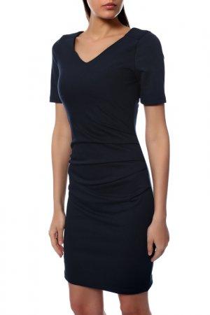 Платье KAFFE. Цвет: синий