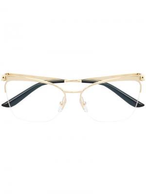Panthère de  glasses Cartier. Цвет: золотистый