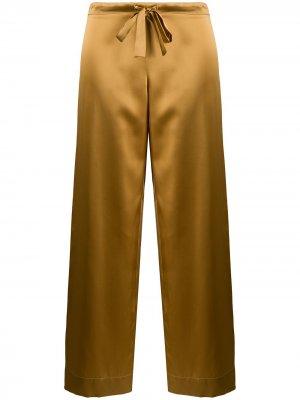 Пижамные брюки Sophia Gilda & Pearl. Цвет: золотистый