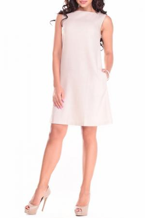 Платье-сарафан Laura Bettini. Цвет: бежевый