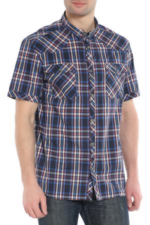 Рубашка CNC Costume National C'N'C. Цвет: синий