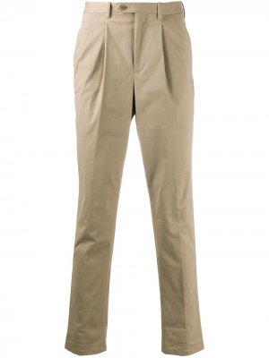 Зауженные брюки чинос Neil Barrett. Цвет: нейтральные цвета