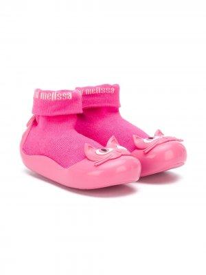 Ботинки-носки Alpha Play Mini Melissa. Цвет: розовый