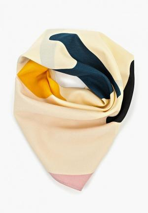 Платок Mango. Цвет: бежевый
