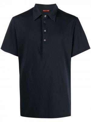 Рубашка поло из джерси Barena. Цвет: синий