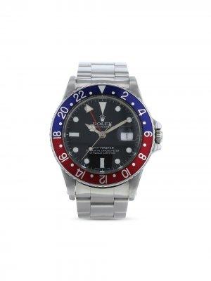 Наручные часы GMT-Master pre-owned 40 мм 1982-го года Rolex. Цвет: черный