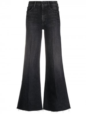 Расклешенные джинсы с завышенной талией MOTHER. Цвет: черный