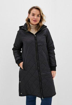 Куртка утепленная Zizzi. Цвет: черный