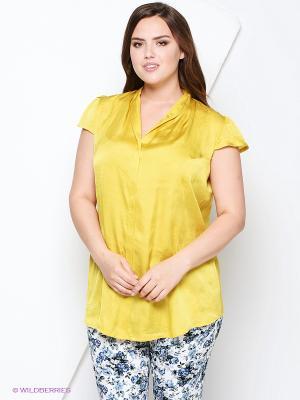 Блузка AMAZONE. Цвет: желтый