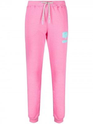 Спортивные брюки с логотипом Chiara Ferragni. Цвет: розовый