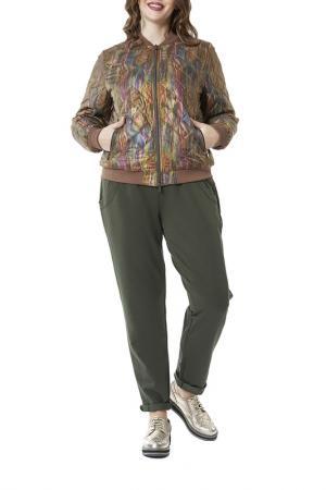 Куртка D`IMMA. Цвет: хаки