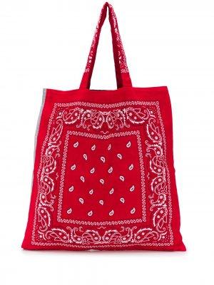Пляжная сумка Bandana Arizona Love. Цвет: красный