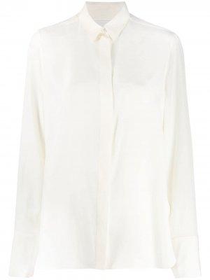 Рубашка свободного кроя Jil Sander. Цвет: нейтральные цвета