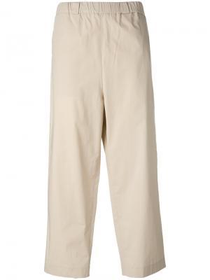 Широкие брюки Lucio Vanotti. Цвет: нейтральные цвета
