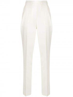 Зауженные брюки Giambattista Valli. Цвет: белый