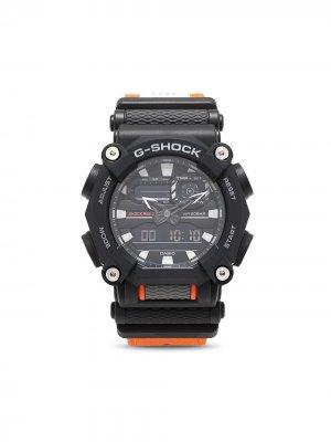 Наручные часы GA-900C1A-4ER 52 мм G-Shock. Цвет: оранжевый