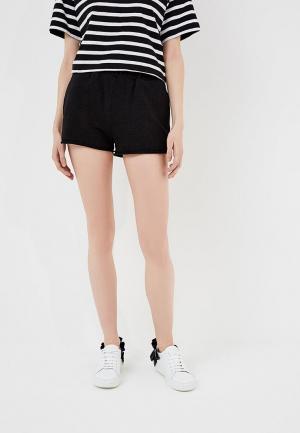 Шорты спортивные Forte Couture. Цвет: черный