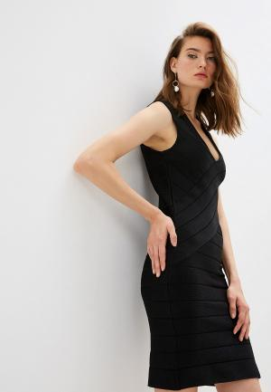 Платье French Connection. Цвет: черный