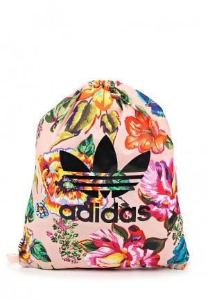Мешок adidas Originals. Цвет: разноцветный