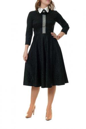 Платье MANNON. Цвет: черный