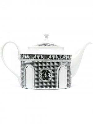 Заварочный чайник Quattrocentesca Fornasetti. Цвет: белый