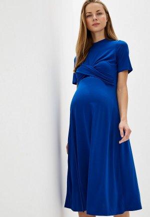 Платье Dorothy Perkins Maternity. Цвет: синий