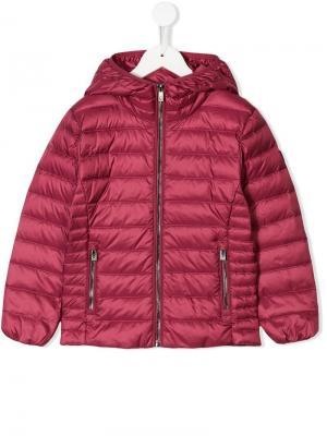 Куртка с капюшоном Ciesse Piumini Junior. Цвет: красный