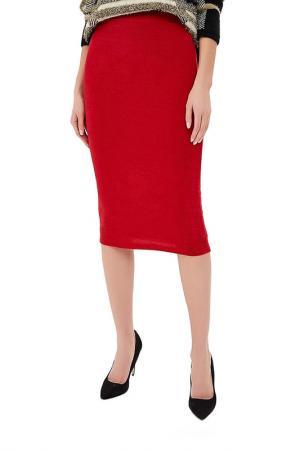 Юбка миди ALINA ASSI. Цвет: красный