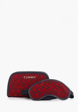 Комплект Tommy Hilfiger. Цвет: красный