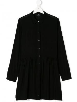 TEEN pleated shirt dress Little Remix. Цвет: черный