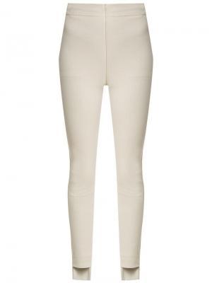 Asymmetrical trousers Gloria Coelho. Цвет: нейтральные цвета