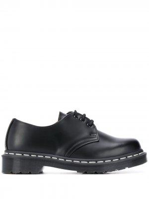 Туфли 1461 на шнуровке Dr. Martens. Цвет: черный