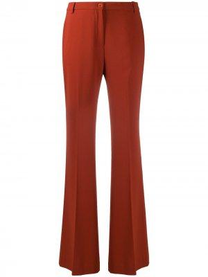 Расклешенные брюки Cady Aspesi. Цвет: оранжевый