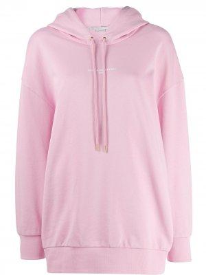 Худи с логотипом Stella McCartney. Цвет: розовый