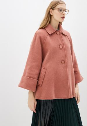 Пальто Max&Co. Цвет: розовый